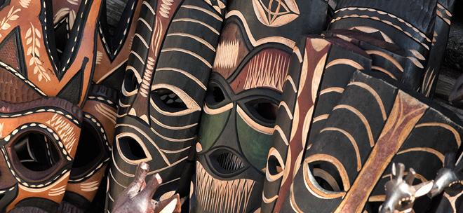 Африканские маски из дерева Фото значение с картинками ритуальные настенные животных людей Легенды и факты
