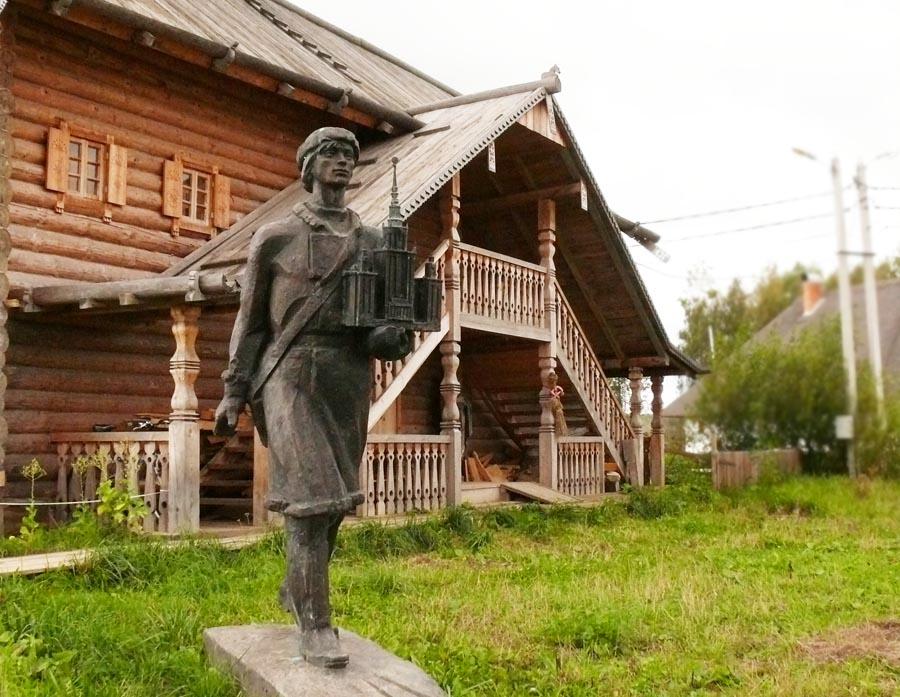 Памятник юный михаил ломоносов в