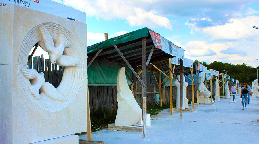 Галерея каменных скульптур
