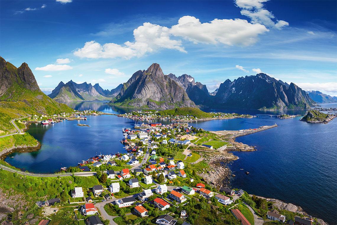 Фото норвегии качественные