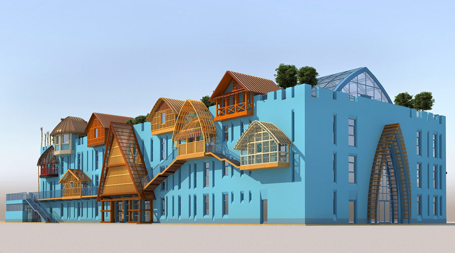 Строительство школы в ЭТНОМИРе