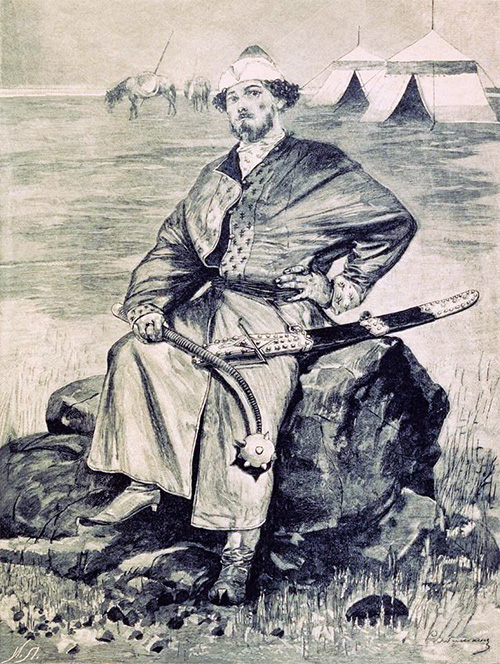 Алёша Попович. 1895. Иллюстрация к книге