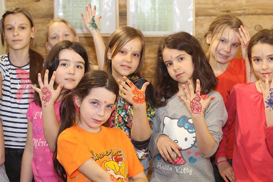 Поделки в детских лагерях 62
